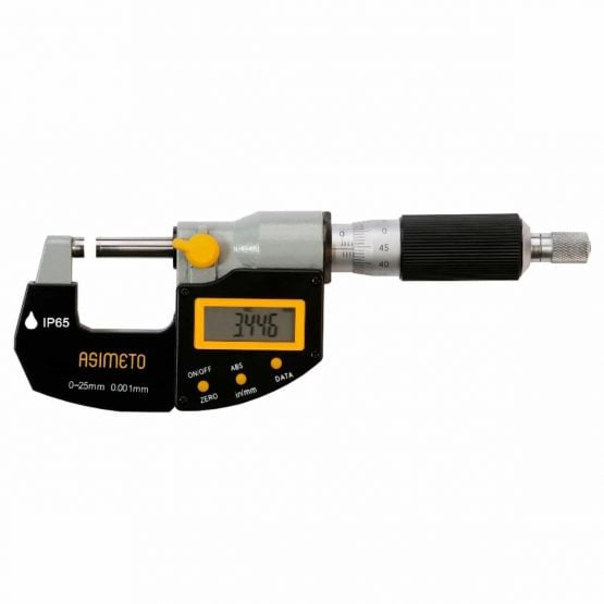 Asimeto Mikrometer IP65 Digital