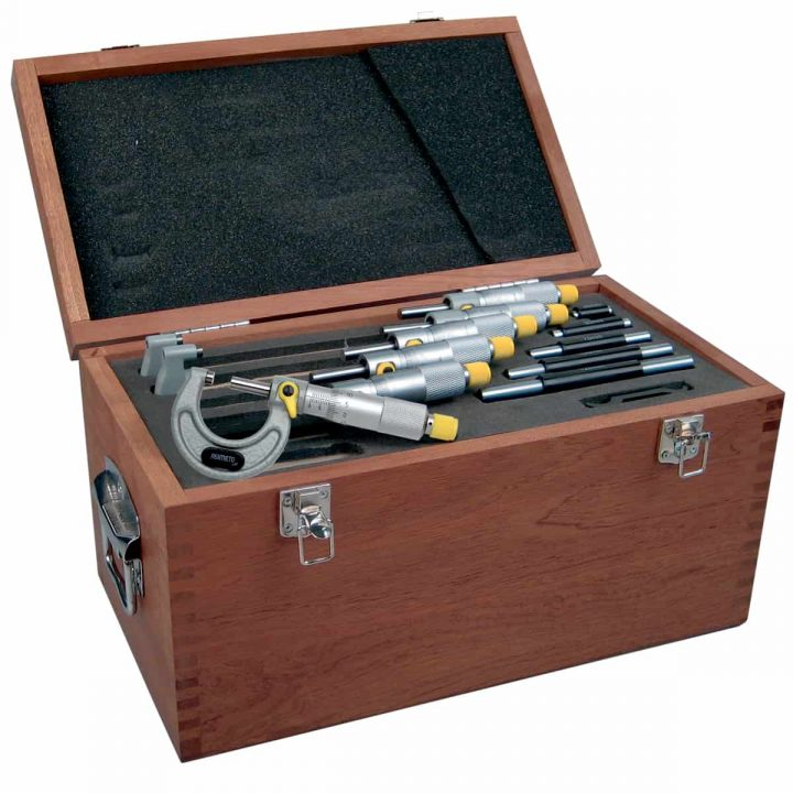 Asimeto Mikrometer DIN863 sett (0-150mm)