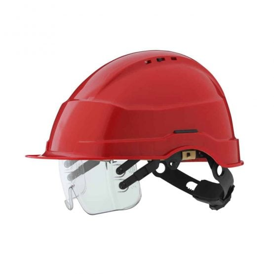 IRIS hjelm rød