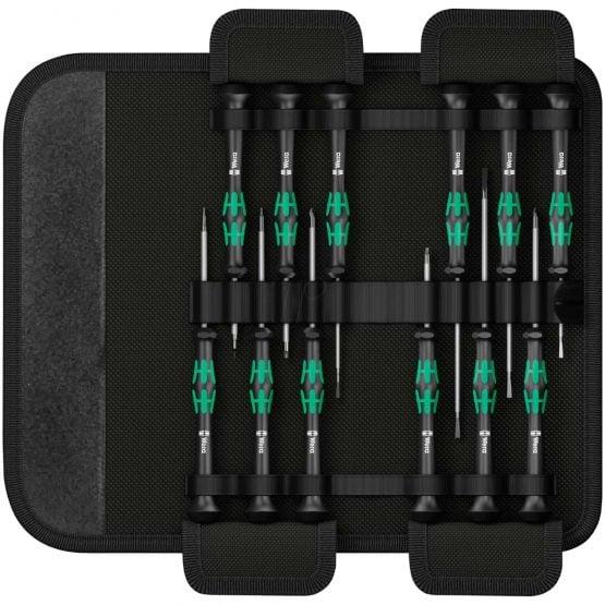 Wera Kraftform Micro Elektronikk sett (12 deler)