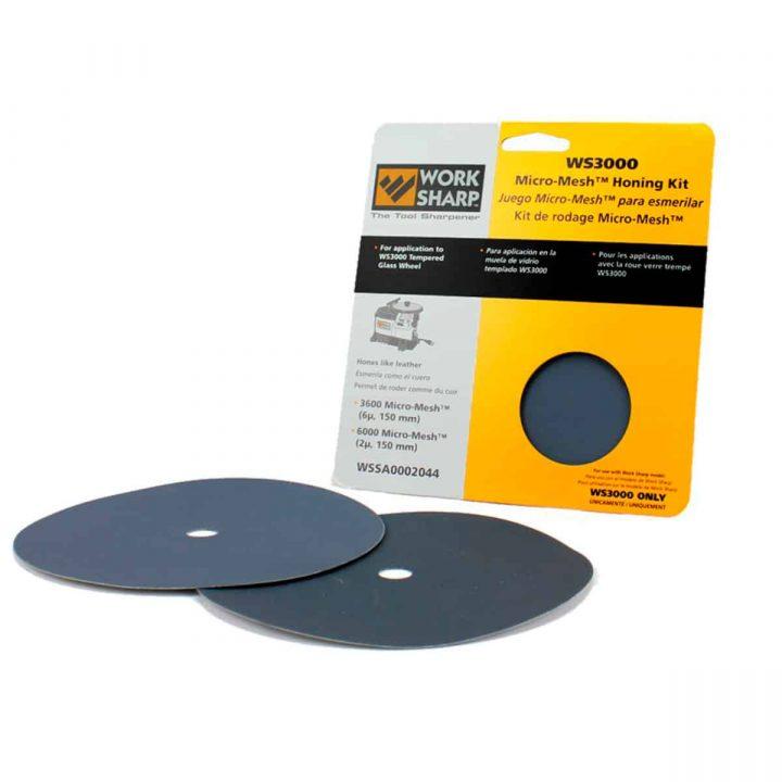 WorkSharp WS3000 Slipepapir sett (honing)
