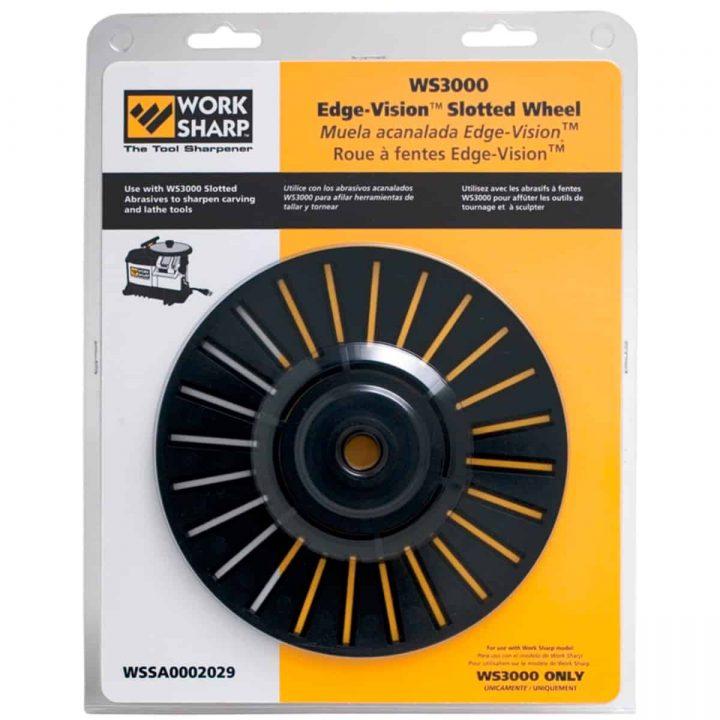 WorkSharp WS3000 Slipehjul Edge-vision