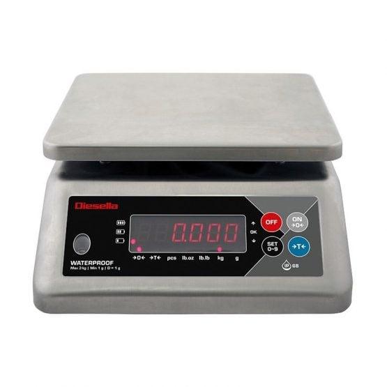Vekt rustfri vanntett (IP68)