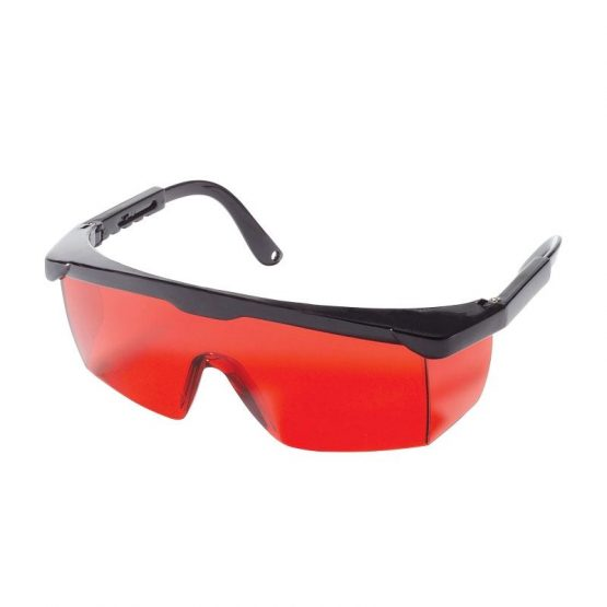 Kapro laserbriller (røde)