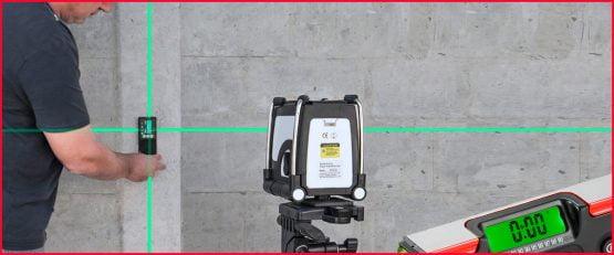 Test-, måle- og laserutstyr