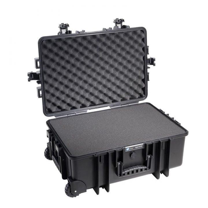 B&W Outdoor koffert med skum